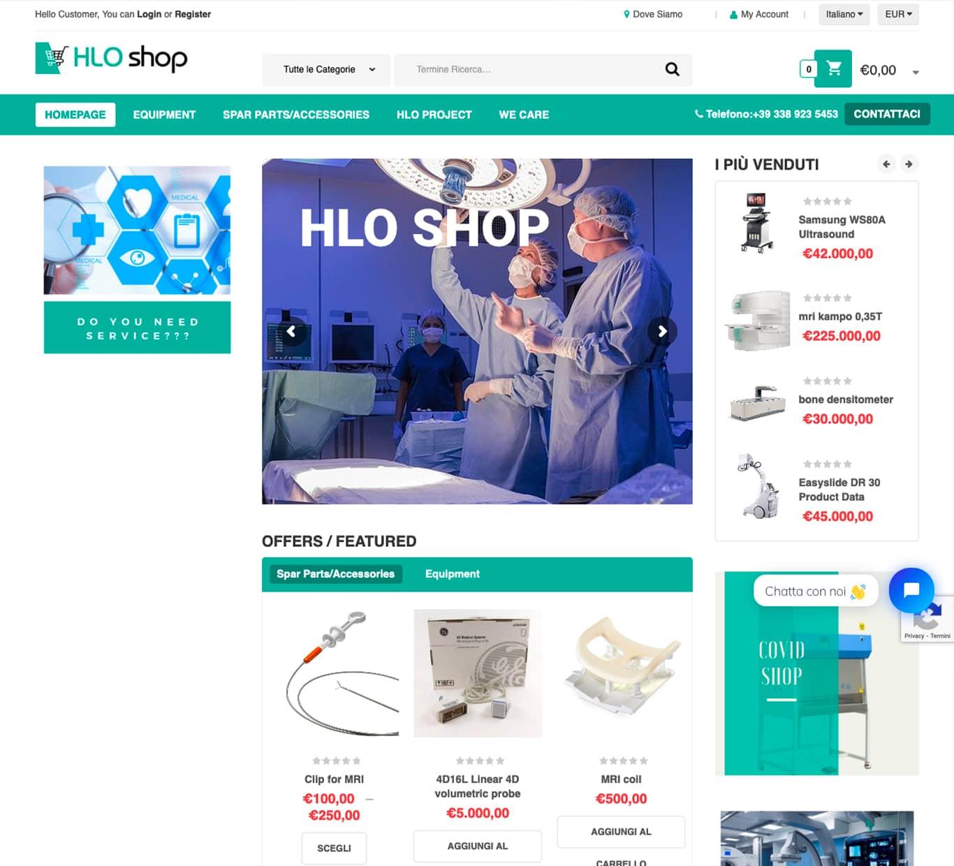screenshot i nostri successi Hlo Shop