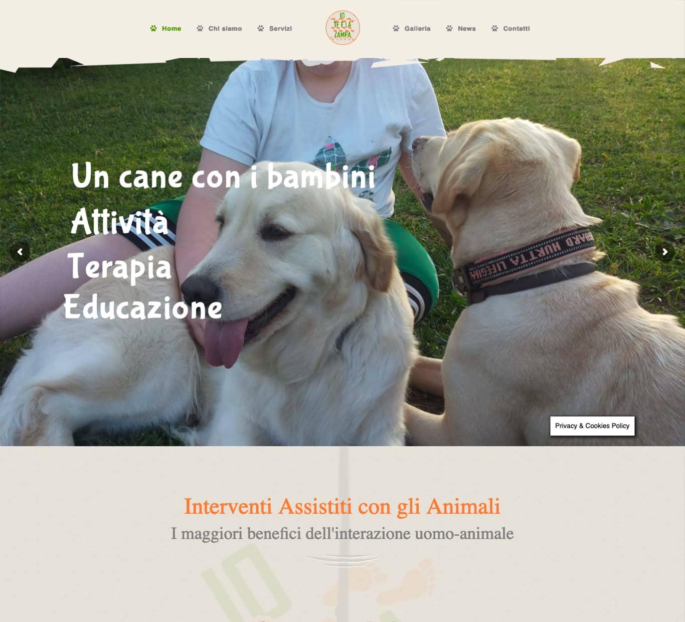screenshot i nostri successi con Pet Therapy Verona