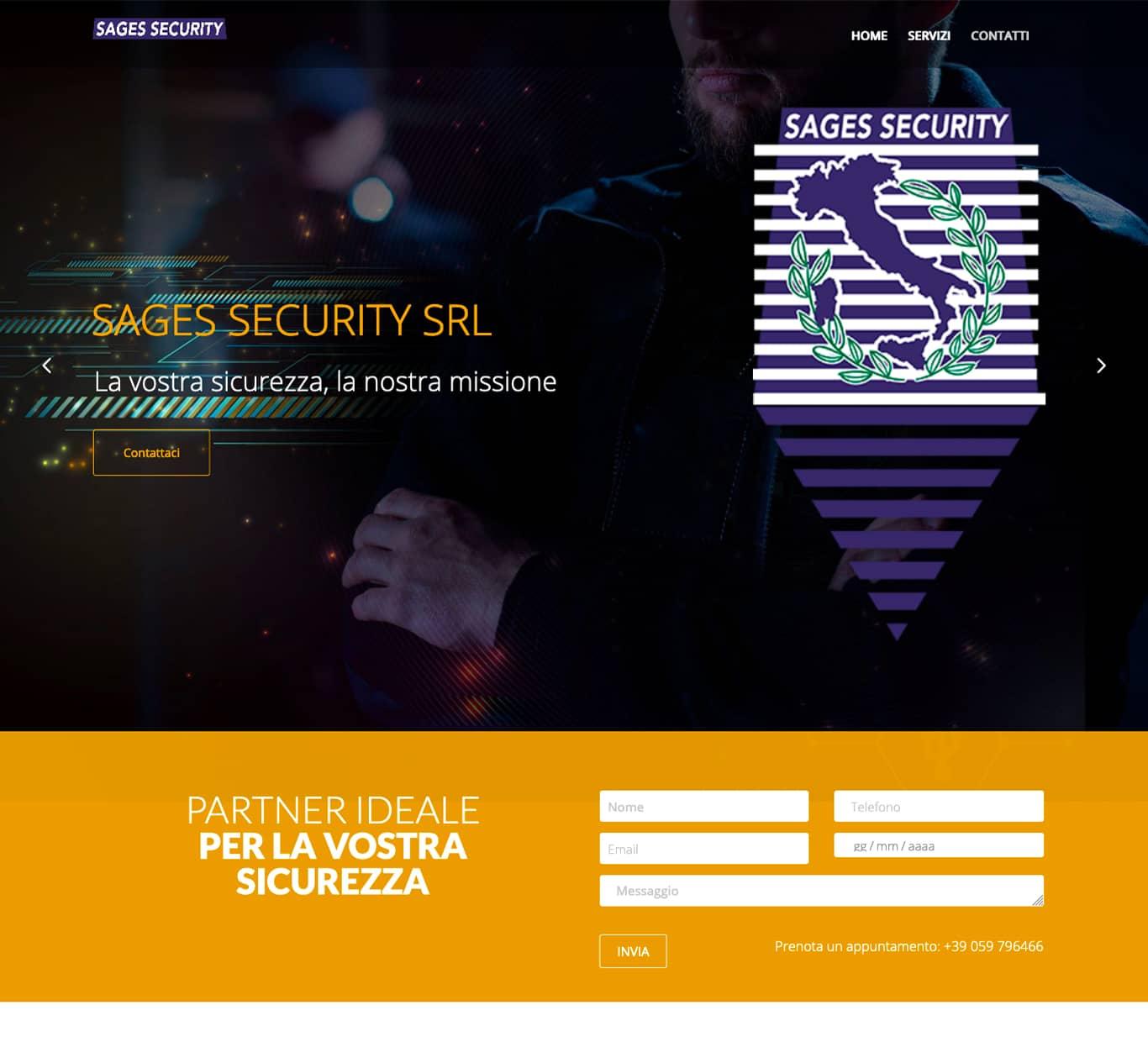 screenshot i nostri successi con Sages Security